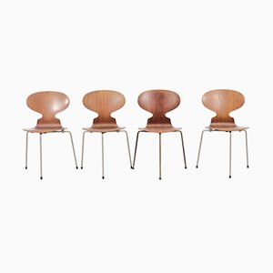 Mid-Century Ant Chairs by Arne Jacobsen for Fritz Hansen, Set of 4