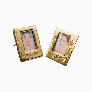 Jurgenstil Picture Frames, 1908, Set of 2