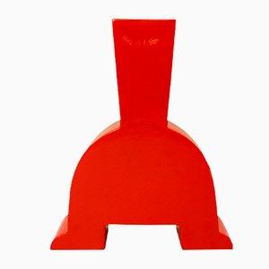 Memphis Style Ceramic Vase, 1970s