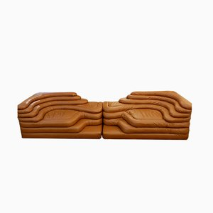 Sofas by Ubald Klug for de Sede, 1970s, Set of 2