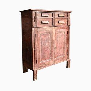 Antique Hungarian Rustic Cabinet