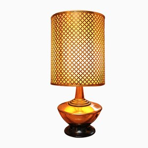 Copper Table Lamp from Copper Craft, 1970s