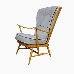 High Back Armchair by Lucian Ercolani for Ercol, 1960s