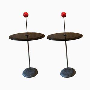 Tables d'Appoint Orio Vintage par Pierluigi Cerri pour Fontana Arte, Set de 2