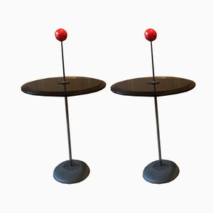 Vintage Orio Beistelltische von Pierluigi Cerri für Fontana Arte, 2er Set