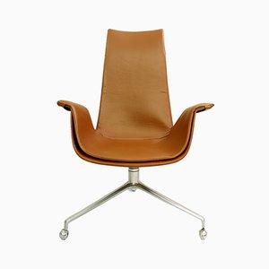 Chaise de Bureau par Preben Fabricius & Jørgen Kastholm pour Kill International, années 60