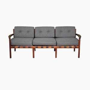 Mid-Century Rosewood 3-Seater Sofa by Arne Norell