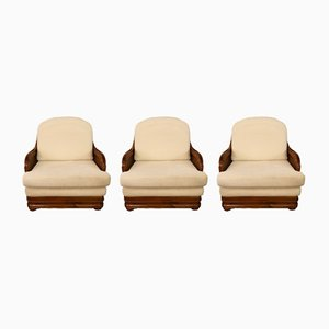 Brazilian Sofas, 1970s, Set of 3