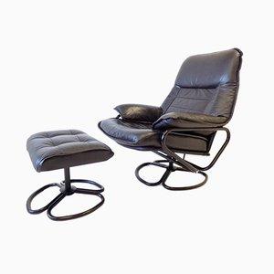 Lounge Chair & Ottoman, 1960s