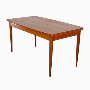 Teak Dining Table by Oswald Vermaercke for Vform, 1950s