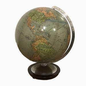 Illuminated Globe from Paul Oestergaard, 1950s