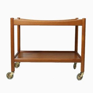 Mid-Century Teak AT 45 Trolley by Hans J. Wegner for Andreas Tuck