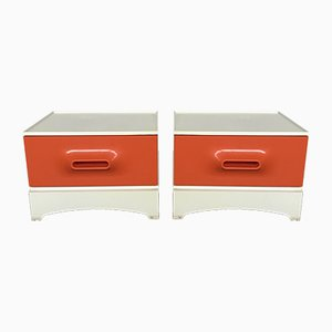Nightstands by Marc Held for Prisunic, 1960s, Set of 2