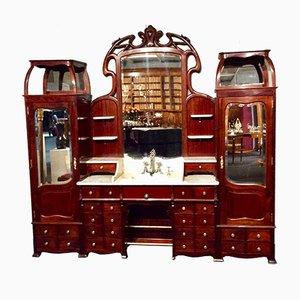 Antique Art Nouveau Washstands, 1914, Set of 3