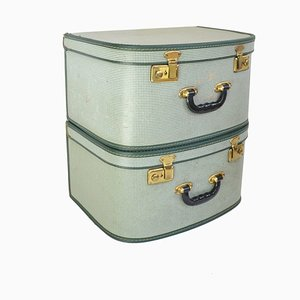 Mid-Century Suitcase, Set of 2