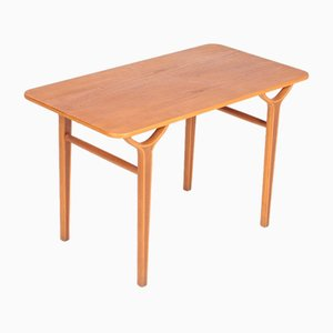 Table d'Appoint Mid-Century par Peter Hvidt & Orla Mølgaard-Nielsen pour Fritz Hansen, Danemark, années 50