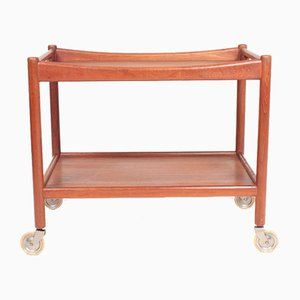 Mid-Century Teak Trolley by Hans J. Wegner for Andreas Tuck, 1960s