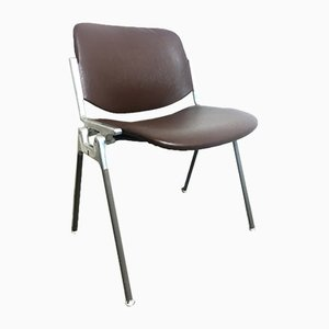 Model 106 Desk Chair by Giancarlo Piretti for Castelli / Anonima Castelli, 1960s