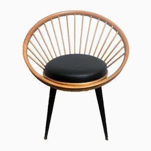 Fauteuil Circulaire par Yngve Ekström, années 60
