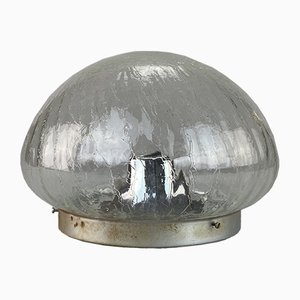 Mid-Century Space Age Glass Ceiling Lamp