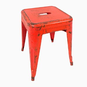 French Stool by Xavier Pauchard for Tolix, 1960s