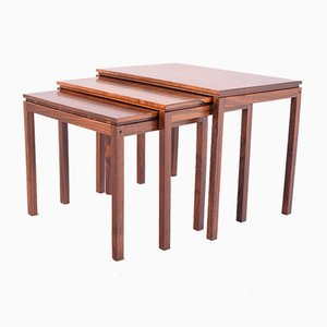 Rosewood Nesting Tables by from Fabian, 1950s