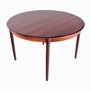 Tavolo da pranzo 15 in palissandro di Niels Otto Møller per J.L. Møllers, anni '60