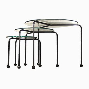 Vintage Nesting Tables by Ettore Sottsass