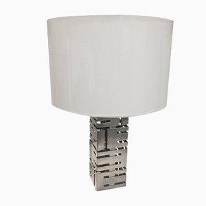 Tischlampe aus Stahl von Roche Bobois, 1970er