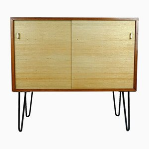 Small Rosewood and Seagrass Dresser, 1960s