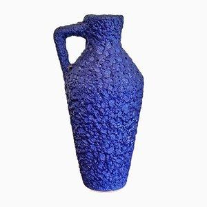 Blauer Nr. 303/21 Übertopf von Silberdistel Keramik, 1970er