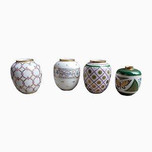 Vasi vintage in porcellana di Arzberg, Germania, anni '50, set di 4