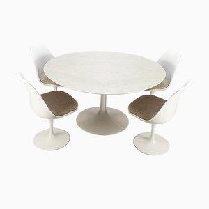 Juego de mesa y sillas de comedor de Eero Saarinen para Knoll Inc. / Knoll International, años 60