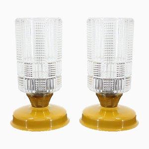 Lampade da tavolo di Kamenický Šenov, anni '60, set di 2