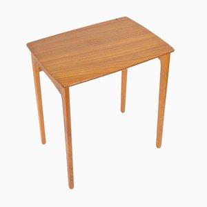 Mid-Century Danish Teak Side Table, 1960s