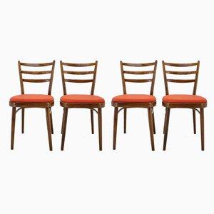 Chaises de Salle à Manger, années 60, Set de 4
