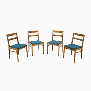 Sedie da pranzo, anni '70, set di 4