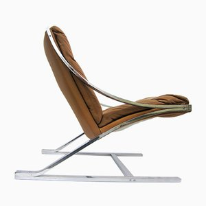 Model Zeta Lounge Chair by Paul Tuttle for Strässle, 1960s