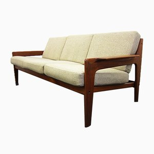 Teak 3-Seater Sofa by Arne Wahl Iversen for Komfort, 1960s