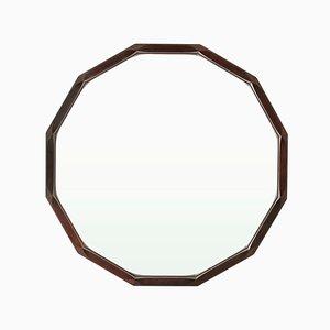 Espejo italiano poligonal de Tredici, años 50