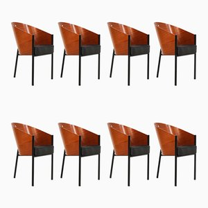 Sedie da pranzo di Philippe Starck per Driade, anni '80, set di 8