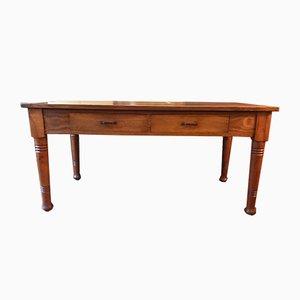 Vintage Esstisch aus Ulmenholz