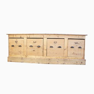Antique French Silk Bobbin Sideboard