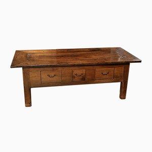 Table Basse 18e Siècle en Marronnier