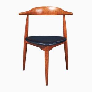 Chaise de Salle à Manger Modèle FH 4103 par Hans J. Wegner pour Fritz Hansen, années 50