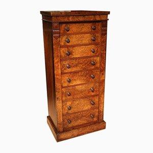 Antique Burl Walnut Dresser