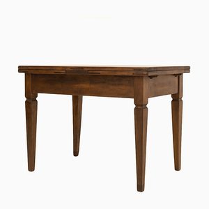 19th Century Biedermeier German Folding Table