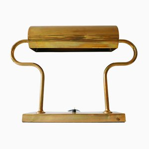 German Brass Table Lamp by Florian Schulz, 1980s