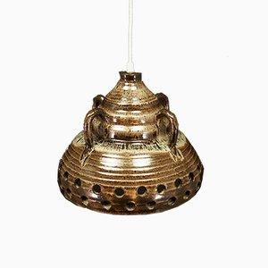 Ceramic Ceiling Lamp from E. Glud's Stentøj