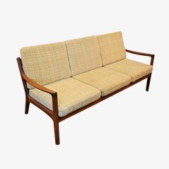 Senator 3-Seater-Sofa by Ole Wanscher for Cado, 1960s